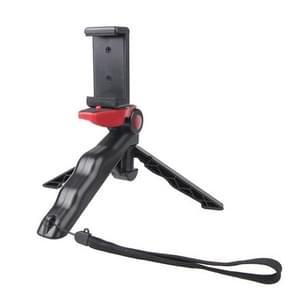 Portable Handgreep / Mini Tripod Statief Standaard met U Type Clip voor GoPro HERO 4 / 3 / 3+ / SJ4000 / SJ5000 / SJ6000 Sports DV / Digitale Camera / mobiele telefoon (rood)