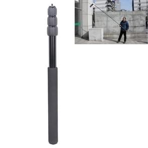 Aluminum Alloy Handheld Boom Pole Holder for SLR Camera / LED Light Microphone  Max Length: 173cm(Black)