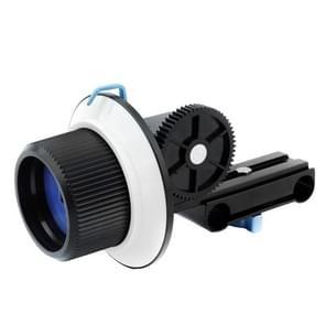 YELANGU YLG0103A F1 Verbeterde versie Volg Focus met Verstelbare Gear Ring band voor Canon / Nikon Video / DSLR Camera