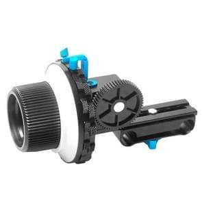 YELANGU YLG0103C F3 Limiet Volg Focus met Instelbare Tandwiel constructie voor Canon / Nikon / Video Camera / DSLR Camera