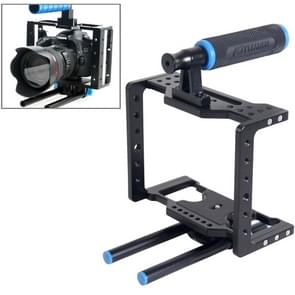 YELANGU YLG0108D Universele DSLR Camera Kooi Stabilisator / Top Handgreep Set
