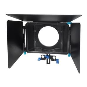 YONGNUO M4 YLG0104C Professionele Digitale Matte Box Lenskap voor Video Camcorder / DSRL (zwart)