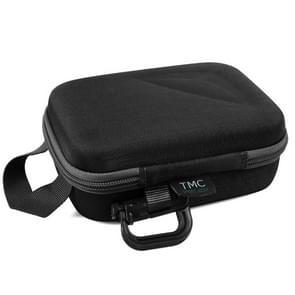 Carbon Fiber waterdichte draagbaar koffertje  grootte: 9 cm x 7 cm  TMC EVA kleine Case voor GoPro nieuwe held / HERO 6 /5 /4 /4 /3+ sessie/3 /2 /1  Puluz U6000 en andere Sport camera's Accessories(Black)