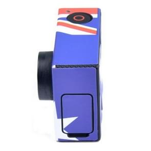 Retro AU patroon hoes / case Sticker voor GoPro Hero 3+ / 3