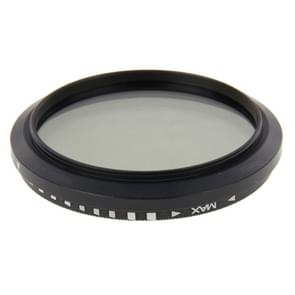 49mm ND Neutral Density Filter instelbaar ND 2 tot ND 400 grijsfilter