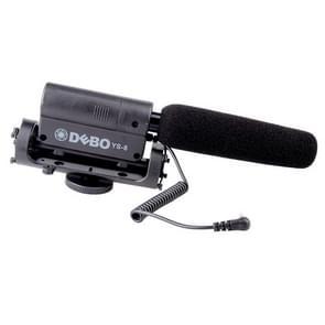 DEBO YS-8 Professionele Camera Interview Microfoon voor DSLR & DV Camcorder