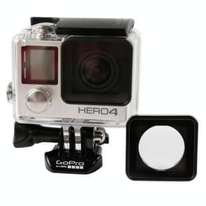 Waterdichte behuizing Vervanging Lens Ring met schroeven en schroevendraaier voor GoPro HERO 4 / 3+