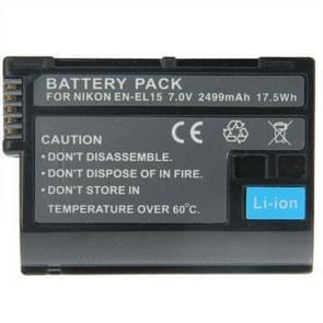 nl-el15 batterij / accu voor nikon d7000 / d800 / d600 / v1