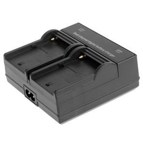Dubbele Digitale Batterij Oplader voor Sony F550 / F730 / F750 / F960 / F960H met EU Stekker