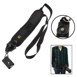 Safe & Fast Quick Rapid Camera Single Sling Strap(Black)