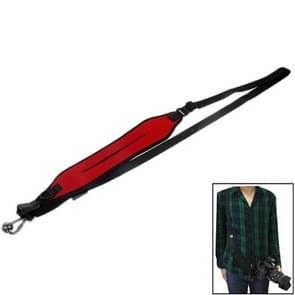 antislip elastisch neopreen snelle sling riem voor camera (rood)