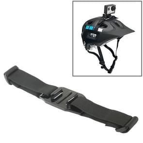 Outdoor Camera Helm Montage Riem voor GoPro HERO (2018) 7 / 6 / 5 / 4 / 3+ / 3 / 2 / 1 (zwart)