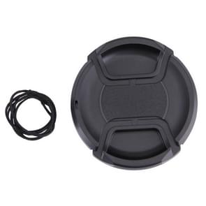 67mm Center Pinch Camera Lens Cap(Black)