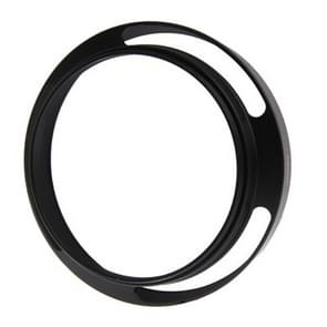 Metal Vented Lens Hood for Lens with 58mm Filter Thread(Black)