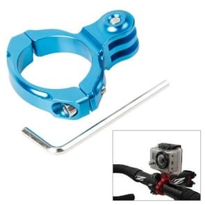TMC HR87 Bike Aluminum Handle Bar Standard Mount for GoPro HERO6 /5 /5 Session /4 Session /4 /3+ /3 /2 /1  Xiaoyi and Other Action Cameras  Internal Diameter: 31.8mm(Blue)