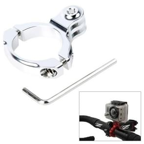 TMC HR87 Bike Aluminum Handle Bar Standard Mount for GoPro HERO6 /5 /5 Session /4 Session /4 /3+ /3 /2 /1  Xiaoyi and Other Action Cameras  Internal Diameter: 31.8mm(Silver)