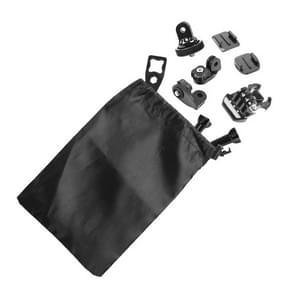 ST-52 HD Nylon Camera en Accessoire Opbergtas voor GoPro HERO (2018) 7 / 6 / 5 / 4 / 3+ / 3 / 2 / 1 (zwart)