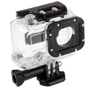 Behuizing Waterdichte beschermings hoes / case voor GoPro HERO 3 Camera (Zwart + Transparant)