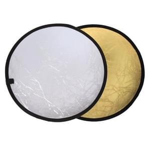 2 in 1 (goud / zilver) vouwen reflector bord (60cm)