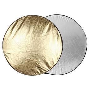 2 in 1 (goud / zilver) vouwen reflector bord (110cm)