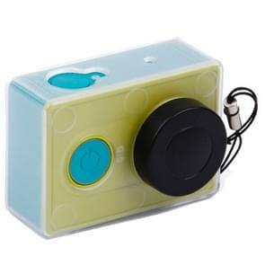 Ultradunne Transparante beschermings hoes / case voor Lensdop Kap voor Xiaoyi (transparant)