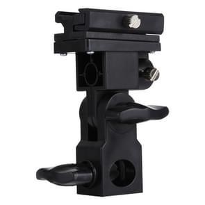 B Type Flash Light Stand Bracket(Black)