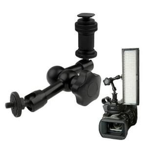 7 inch Articulating Magic Arm for DSLR Camera Flashlight / LED Light / LCD Monitor(Black)