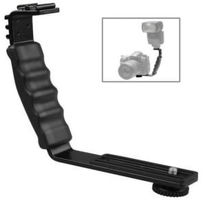 Professionele Universele Metalen Flits Bracket Houder voor DSLR Digitale Camera
