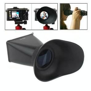 2.8X 3 inch LCD Viewfinder for Canon 550D / Nikon D90 (V2)(Black)