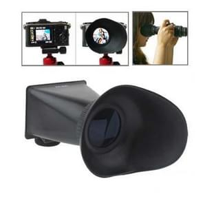 2.8X 3 inch LCD Viewfinder for Canon 600D / 60D / T3i (V3)(Black)