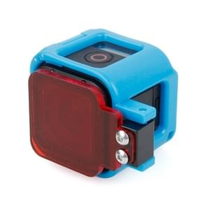 TMC Low-profile Frame bevestiging met filter voor GoPro HERO4 Session(blauw)