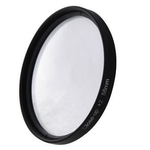 6 In 1 58mm Albumclose-up Lens Filter Macro Lens Filter + Filter Adapter Ring voor GoPro HERO 3