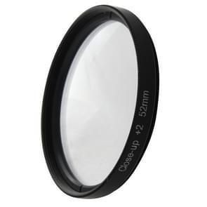 6 In 1 52mm Albumclose-up Lens Filter Macro Lens Filter + Filter Adapter Ring voor GoPro Hero 4 / 3+
