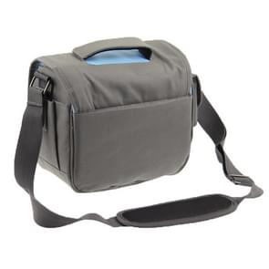 Stylish Canvas Digital Camera Bag with Strap  Size: 24cm x 20.5cm x 14cm