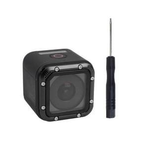 TMC Aluminum Frame Lens vervangings Kit voor GoPro HERO 4 Session(zwart)