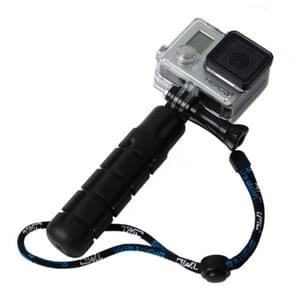 TMC Light Gewicht Grip voor GoPro HERO (2018) 7 / 6 / 5 / 4 / 3+ / 3 / 2 / 1, HR203 (zwart)