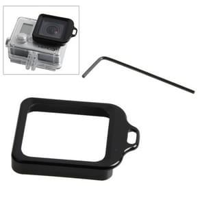 Lens vervangings Kit (Aluminum draagriem ringbevestiging & schroevendraaier) voor GoPro HERO 4 / 3+(zwart)