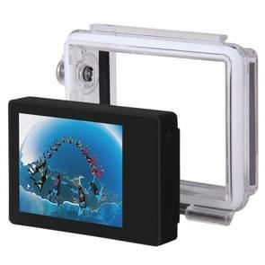 ST-175 2,0 inch TFT LCD extern beeldscherm en Waterdicht Achterzijde voor GoPro Hero 4 / 3+ (zwart)