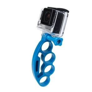 TMC Vinger handheld met duimschroef voor HERO 4/5 SESSION / (2018) 7 / 6 / 5 / 4 / 3+ / 3 / 2 / 1 / 2 (blauw)