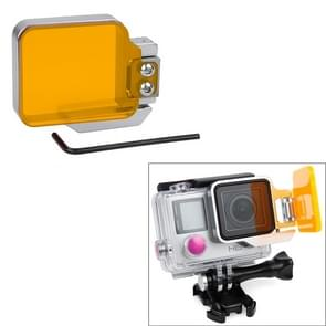 TMC Light Motion Nacht onderwater filter voor GoPro Hero 4 / 3+ (Oranje)