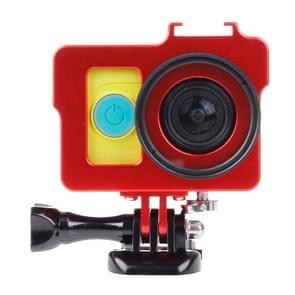 Behuizing Metaal beschermings Kooi voor Basic Houder + schroeven + UV-Ir sperfilter voor Xiaoyi (rood)
