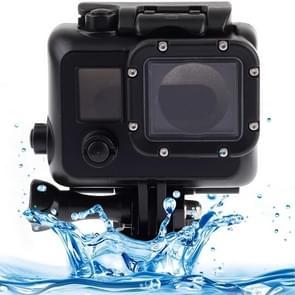 Black Edition Behuizing Waterdicht hoes / case beschermings voor Gesp Basic Houder voor GoPro HERO 3 (zwart)
