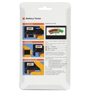 Universele batterijtester voor 1.5V batterijen van AA  AAA en 9V 6F22
