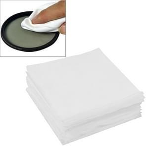 100 stuks 9 8 x 9 8 cm gespecialiseerde LCD scherm Lens brillen schoonmakende doek voor Camera / mobiele telefoon