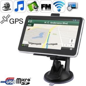 5 0 inch TFT Touch-screen Car GPS Navigator met 4GB geheugen en Kaart  Ondersteuning AV In Port  Touch Pen  Voice Broadcast  FM Transmitter  Bluetooth-functie  Ingebouwde luidspreker  Resoluties: 480 x 272 (Zwart)