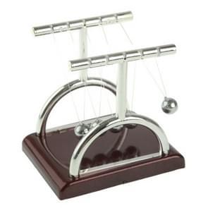 10mm Mini Desktop Newton's Cradle kunststof Base evenwicht ballen