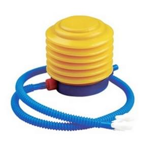 draagbare Plastic Foot Air Pump / Hand-press Below Pump voor Inflatable Product(geel)