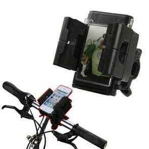 Universal Bicycle Holder for iPhone 4 & 4S/ 3GS/ 3G/ Mobile Phone/ GPS/ PDA/ MP3/ MP4  Width: 45mm-90mm(Black)