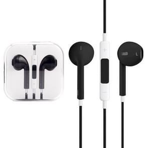 EarPods met Wired controle en Mic  voor iPhone  iPad  iPod  Galaxy  Huawei  Xiaomi  Google  HTC  LG en andere Smartphones(Black)