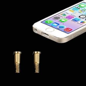 20 stuks voor iPhone 5 / 5S oorspronkelijke Dock Screws(Gold)